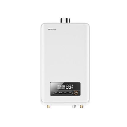 东芝 燃气热水器13L 小体积智能精控恒温强排式天然气家用低压婴儿洗 JSQ25-TS1