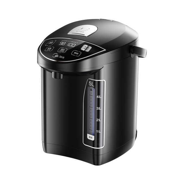 【酷黑】电热水瓶 十段控温 双温显示 3种烧水模式 MK-SP50Power302