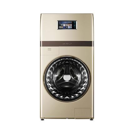 【精奢洗涤】比佛利15KG分区复式洗衣机 意式美学 水魔方护衣护色 3D触控屏B1FDC150TG6