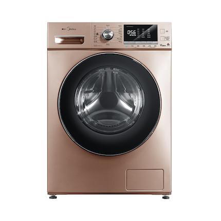 【一键快净】滚筒洗衣机10KG  BLDC变频  溶漩风科技 家用静音  MG100V76DQCJ5