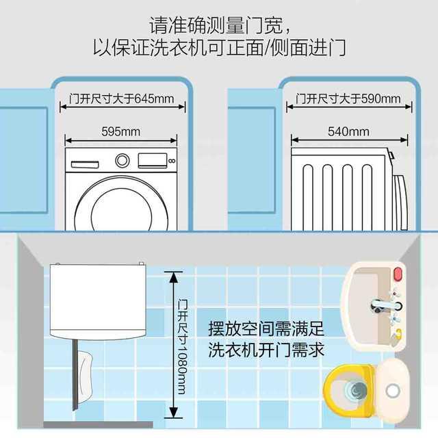 滚筒洗衣机 8公斤变频 全自动家用纤薄 MG80V76DQCJ5