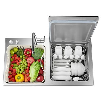 【嵌入式】水槽洗碗机 6套容量 活水洗碗 果蔬净化 S2