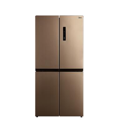 【新风冷3.0】美的十字对开门冰箱 四开门变频超薄无霜嵌入式大容量 BCD-440WTPM(E)