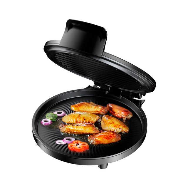煎烤机  轻薄可立 便携一键烹饪 不沾烤盘易清洁 速脆悬浮烙烤 MC-JK26Simple101