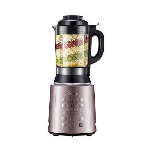 多功能破壁机 德国精钢6叶刀 智能防溢 5段熬煮搅打程序因材制宜 标配果汁杯 MJ-BL1011A