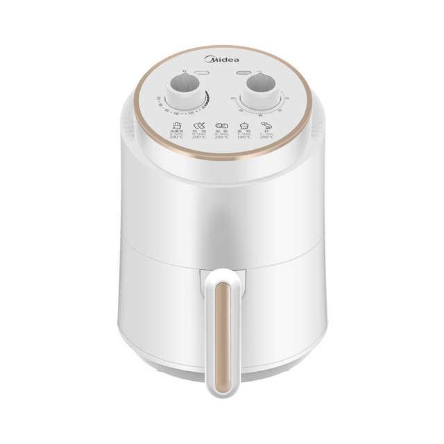 【简约款】空气炸锅 1.5L容量 双旋钮定时定温 随心DIY 200°高温脱脂 MF-ZY1501