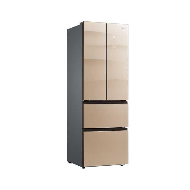美的(Midea)多门冰箱玻璃面板变频无霜 分区储存 智能电冰箱 BCD-311WGPZM(E)