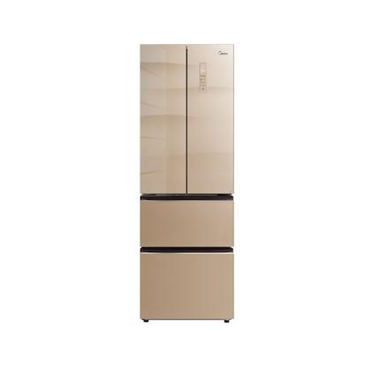 【智慧无霜】311L多门冰箱 玻璃面板 四门分区储存 变频无霜 BCD-311WGPZM(E)