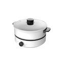 【极简设计】电煮锅 4L分离式锅体 不粘涂层 无极温控 易清洗 MC-DY26Easy501