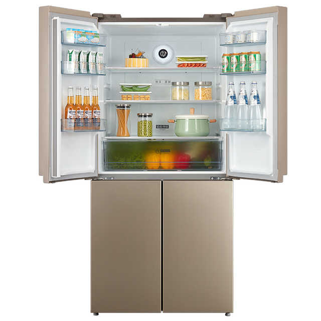 [热卖]美的冰箱 468升 十字对开门冰箱 风冷无霜 电脑控温 BCD-468WTPM(E)冰箱