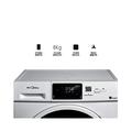 【校园洗衣机】 免投币 可预约 手机控制 MG80-GF05DW
