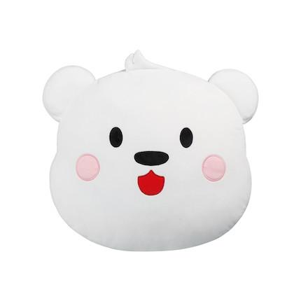 阿biu生活周边 — 阿biu熊头可爱抱枕 软萌舒适 陪你入冬