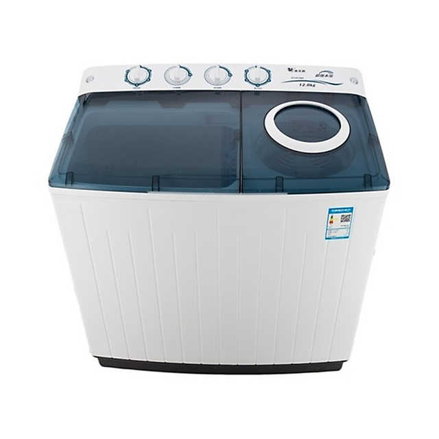 小天鹅12KG双桶洗衣机 净衣科技 洗脱分离 节能省电 TP120-S908