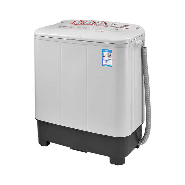【节能省电】小天鹅8KG双桶洗衣机 双电机节能洗衣 高效净衣 洗脱分离 TP80VDS08