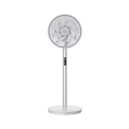 电风扇家用 变频循环风 液晶触屏 12H定时预约 遥控安静低噪风扇LDC30AR