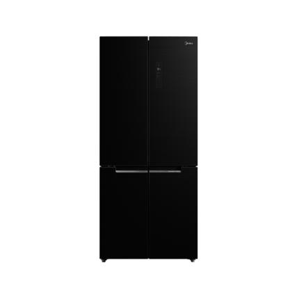 【多维智能变频】微晶生鲜 pst动态杀菌 调湿空间 美的冰箱BCD-511WGPZM星耀灰