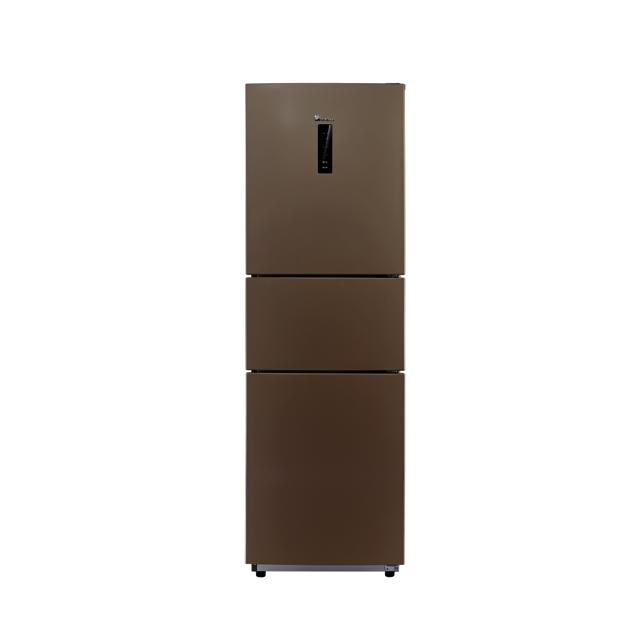 【热销新品】小天鹅226L三门冰箱 双风冷水润保湿 铂金净味BCD-226WTL