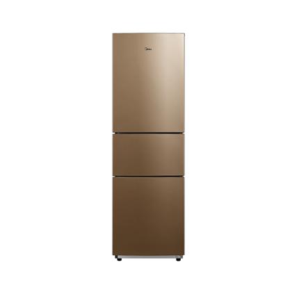 Midea/美的BCD-210TM(E)时尚外观低温补偿节能静音家用三门电冰箱