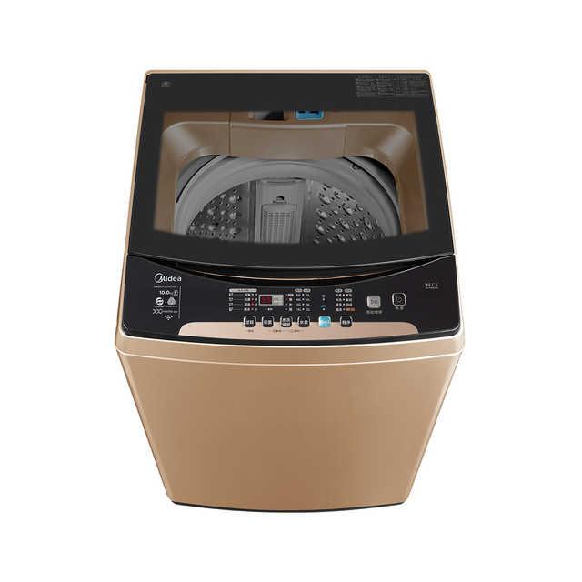 【一键快净】波轮洗衣机 10KG强压双水流 防缠绕 专利免清洗 直驱变频 MB100V50WDQCJ