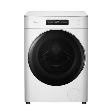 【送智能音箱】智能滚筒洗衣机8KG 极简设计 溶旋风科技 蓝牙配网 活水喷淋 MG80T1WD