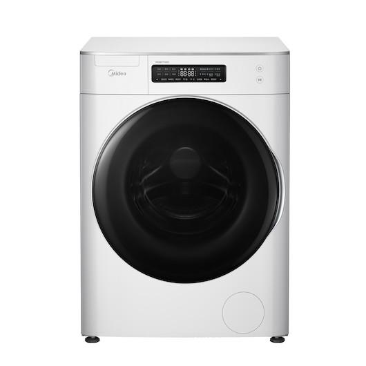 滚筒洗衣机 8KG  新风祛味  溶旋风科技 蓝牙配网  MG80T1WD