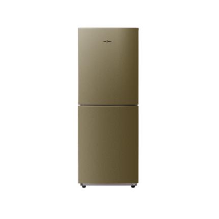 美的165L两门家用小冰箱双系统风冷无霜小型电冰箱静音节能省电铂金净味智能控温 BCD-165WM