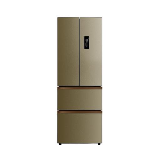 【五维锁鲜】冰箱 322L法式对开门 风冷无霜 双变频 铂金净味BCD-322WTPM