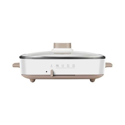 【网红料理锅】煎烤机 1300W大功率速热 四档调温 可选烤盘套装MC-DY3020Power101