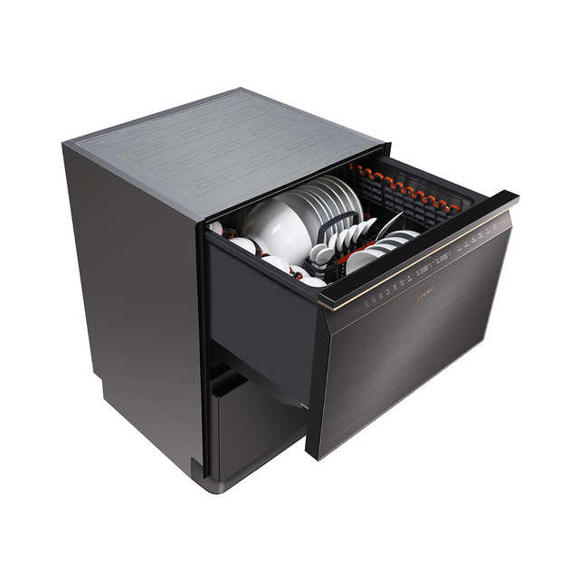 【嵌入式】COLMO 洗碗机 14套 双屉设计 母婴分洗 红酒杯洗 洗烘存一体 CDDTW612