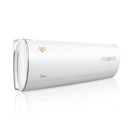 美的2匹单冷强劲制冷远距离送风定速大功率壁挂式空调挂机KF-50GW/N8Y-DH400(D3)