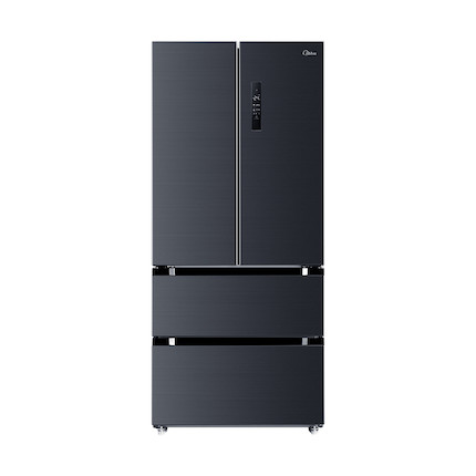 【微晶冰箱】美的518升 风冷无霜微晶保鲜一级能效变频节能智控多门法式冰箱BCD-518WTPZM