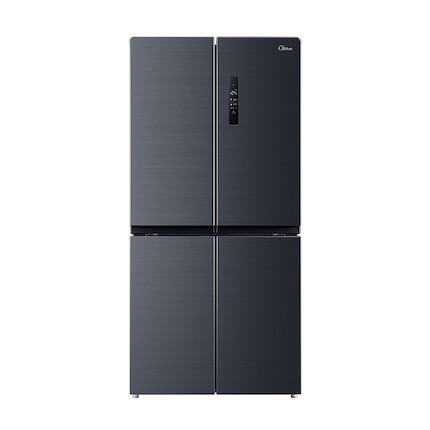 【新品】美的冰箱(Midea)铂金净味智能风冷家用十字电冰箱BCD-446WTPZM(E)