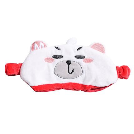 熊小美周边产品 眼罩(红色)