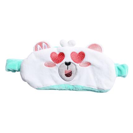 熊小美周边产品 眼罩(绿色)