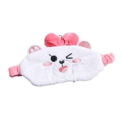熊小美周边产品 眼罩(粉色)