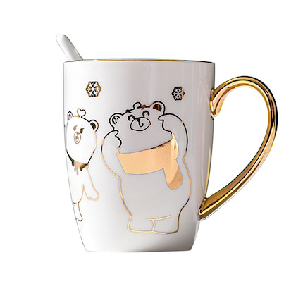 熊小美周边产品 马克杯(全家版)