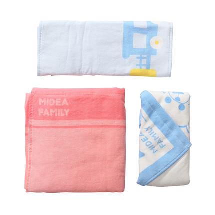 熊小美周边产品 毛巾三件套