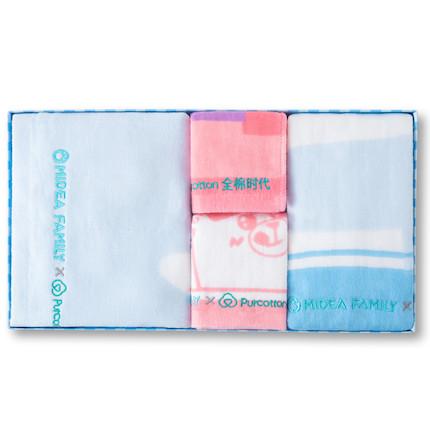 熊小美周边产品 毛巾四件套(蓝色)