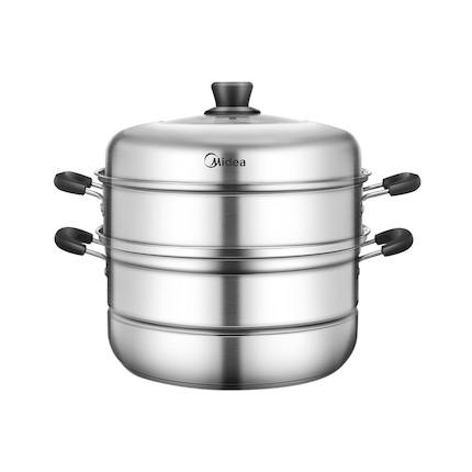 【炊具】三层多用组合 食品级不锈钢 26CM大口径 加高拱盖  MP-ZG26Z02