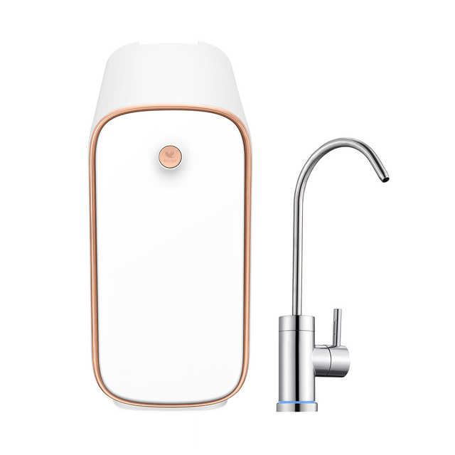 美的 布谷(BUGU)厨下净水器标准版 5合1复合滤芯 400加仑RO 智能提醒BG-W1