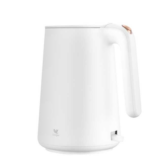 美的 布谷(BUGU)防漏壶嘴 隐藏式底座 电水壶 BG-K1