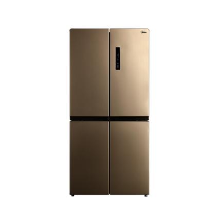 【薄而鲜透】美的 452升双开门冰箱家用双变频风冷无霜十字对开门冰箱除味BCD-452WTPM