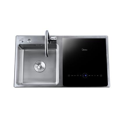 水槽洗碗机S3 6套餐具 升级5合1 深层果蔬洗 热风烘干 活水洗碗WQP6-8301J-CN