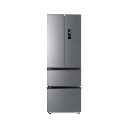 【送智能音箱】323L法式对开门冰箱 双变频 一级能效 风冷无霜BCD-323WTPM(E)