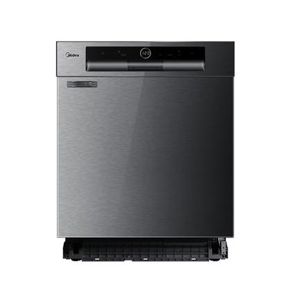 【L3嵌入式】洗碗机 13套大容量 热风全烘干 775新高度嵌入 智能测污 WQP12-W5301B