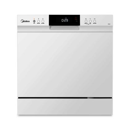【台嵌两用】洗碗机 8套餐具 紫外线灭菌 WIFI智控 智能果蔬洗 WQP8-W3802H