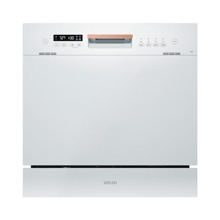 【华凌vie6台嵌两用】洗碗机 热风烘干 8套餐具 智能油污感应 WQP8-HW3909E-CN