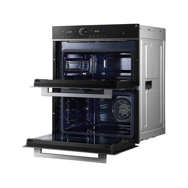 嵌入式蒸烤箱 一机双腔 蒸烤分区 珐琅腔体 海量云食谱BS50D0W