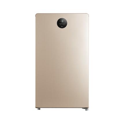 美的 118L冷藏冷冻转换 一级能效 智能控温 净味阻霜 家用节能立式冷柜BD/BC-118UEM