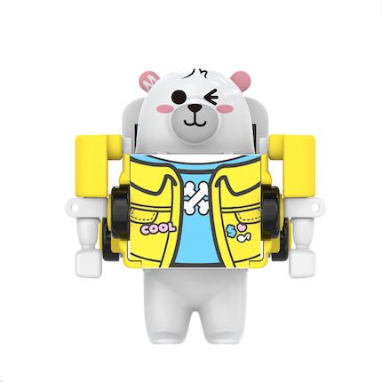 熊小美周边产品 熊起玩具车